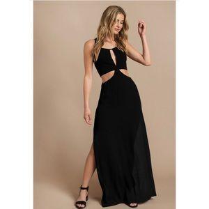 NWT Tobi Black Cutout Maxi Dress